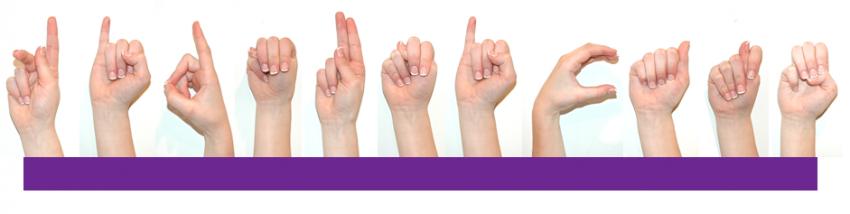 """sign language hands spelling Kidmunicate"""