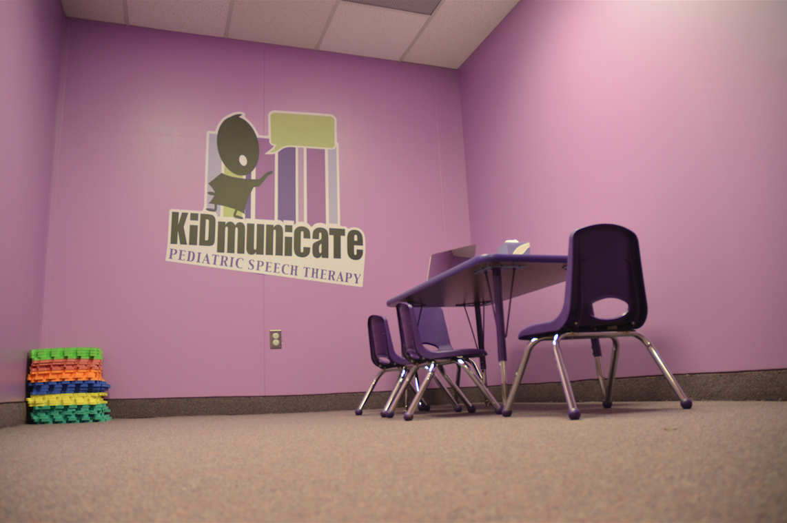 Kidmunicate Pediatric Speech Pathology Therapy Room