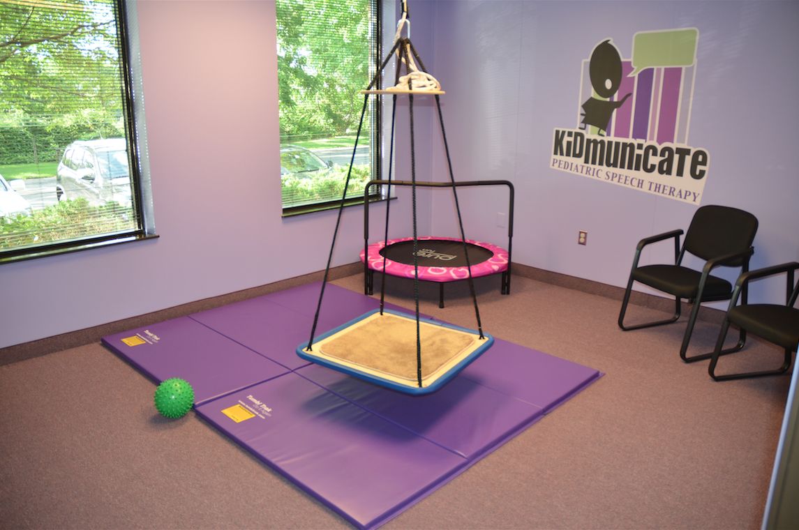 Kidmunicate Pediatric Speech Pathology Sensory Room