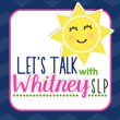 Let's talk with Whitney SLP Top Kidmunicate Blog