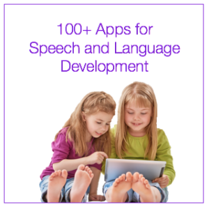 100 apps for speech and language development