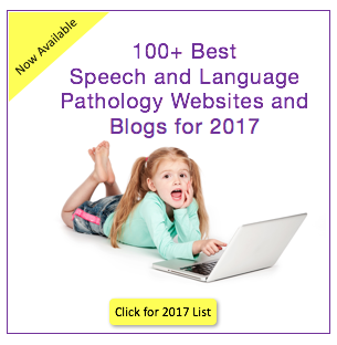 Top SLP Blogs / Wesbites for 2017