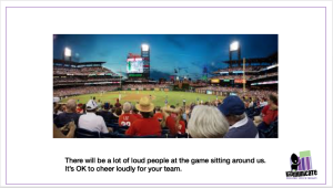 Autism Social Stories: Going to Baseball Game
