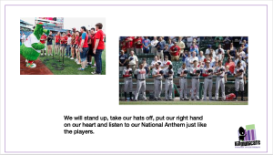Autism Social Story: Going to Baseball Game
