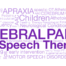 Cerebral palsy and pediatric Speech therapy