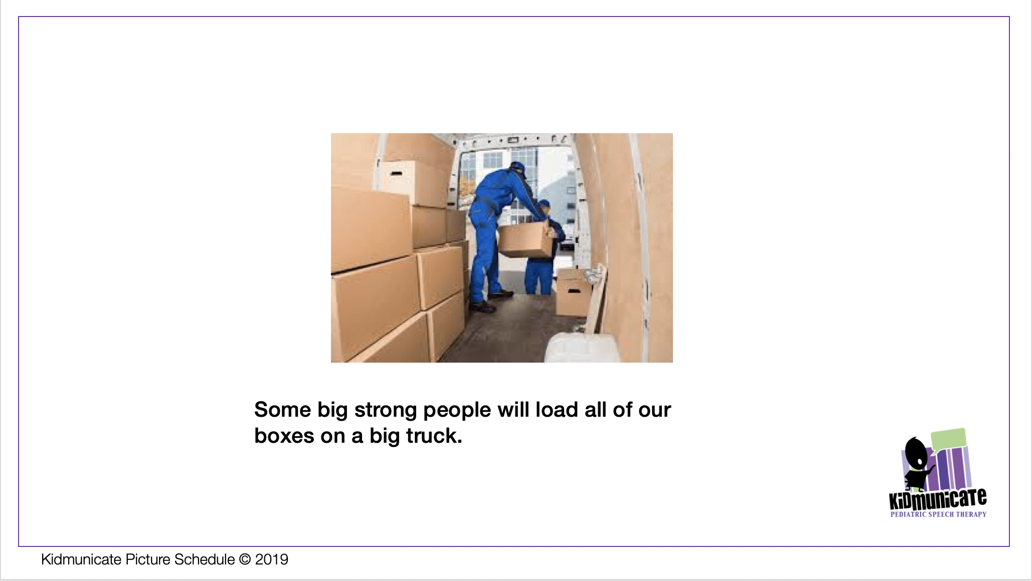 Autism Preparing to Move To A New House